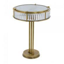 Lavone lampa stojąca gabinetowa patyna 3x40W E14