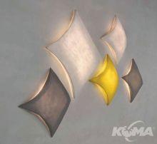 Kite kinkiet/plafon 4x23W E27 blanco