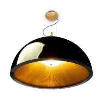 Umbrella lampa wisząca 3x23W E27 230V czarno - złota