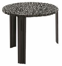 T-table stolik d50cm h44cm czarny