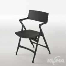 Dolly krzeslo 52x53x82cm czarny