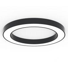 Alberta S-Light plafon 95cm 72,8W LED 230V czarny DIMM
