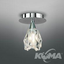 Amel lampa sufitowa 1x40W G9 230V chrom