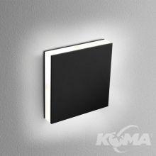 LEDPOINT oprawa schodowa wpuszczana kinkiet 4W LED 3000K phase-control czarny