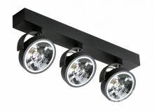 Jerry 3 reflektor 3x50W G53/QR111 12V czarny