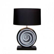 Black swirl lampa stołowa 1x60W E27/ bez abażuru