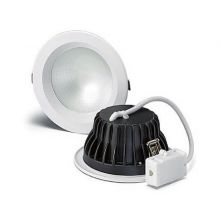 Prime Frost oprawa wpuszczana biała 15W LED IP44 3000K 230V