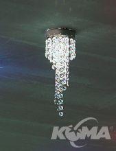 Kioccia lunga oprawa stropowa 1x35W GU5.3 chrom/kryształ