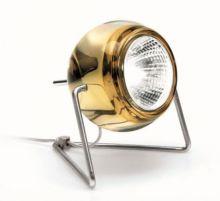 Beluga color lampa stolowa 1x50W GU10 bursztynowy
