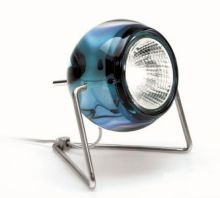 Beluga color lampa stolowa 1x50W GU10 niebieski