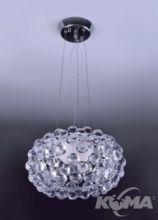 Mirage lampa wiszaca 1x100W R7s d35cm chrom