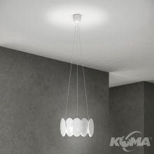 Obolo lampa wisząca 16W LED 230V biała