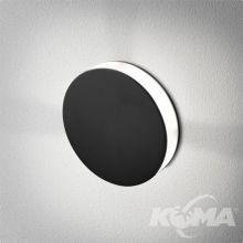 Ledpoint kinkiet wpuszczany 4.5W LED 230V czarny (mat)