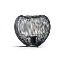Cage lampa stołowa 1x40W E27 230V czarna