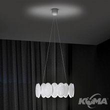 Obolo lampa wisząca 28W LED 230V biała