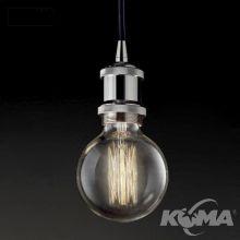 Frida lampa wisząca 1x60W E27 230V chrom