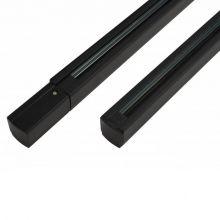 Szyna 2m -3-fazowa-montażowa-track z zasilaczem czarna