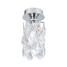 Rita lampa sufitowa 1x40W G9 230V chrom/transparentny