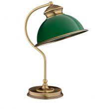 Lido lampa stolowa 1x60W E27 platyna/zielony