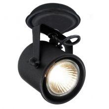 Alter reflektor 1x50W GU10 230V czarny