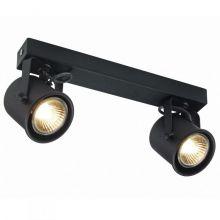 Alter reflektor 2x50W GU10 230V czarny