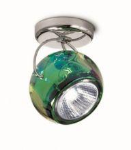 Beluga color kinkiet/plafon 1x75W GU10 zielony