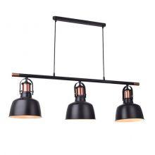 Darling lampa wisząca 3x40W E27 230V czarna