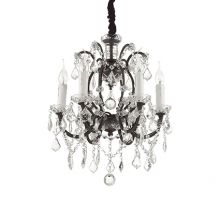 Liberty lampa wisząca żyrandol 6x40W E14 230V transparentny