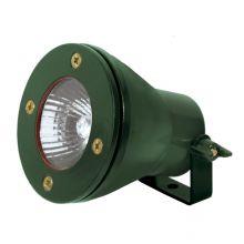 Akven oprawa wodoszczelna zewnętrzna zielona 1x35W MR16/Gx5,3 12V