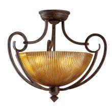 Mediterraneo lampa sufitowa plafon 3x60W E27 230V