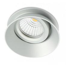 Ses lampa wpuszczana 1x50W GU5.3 12V szara