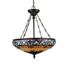 Belle Fleur lampa wisząca 4x100W E27 230V