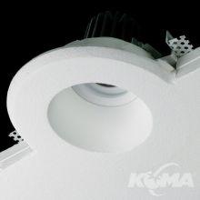 Orto oprawa wpuszczana do zabudowania 7W LED 3000K