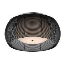 Tango plafon 2x60W E27 50cm czarny
