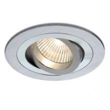 Mini Catli lampa wpuszczana 1x50W GU10 230V aluminium szczotkowane