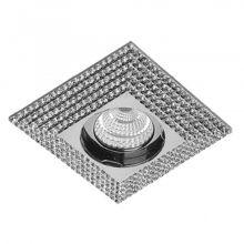 Piramide oprawa wpuszczana 1x50W GU10 230V chrom