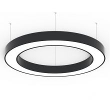 Alberta S-Light lampa wisząca 125cm 109,2W LED 230V czarna
