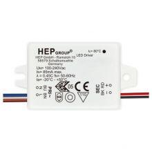 Zasilacz LED CC 700mA 2-4W