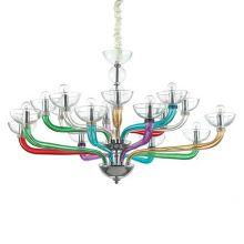 Casanova lampa wisząca 16x40W E14 230V wielokolorowa