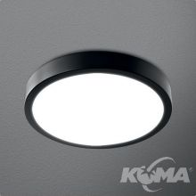 Blos plafon łazienkowy 32cm 24W LED 230V czarny (mat) neutralna barwa CRI>80