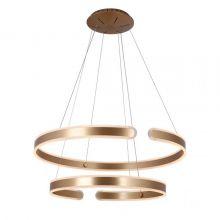Sydney lampa wisząca 41W + 51W LED 3000K 230V złota