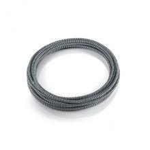 Cavi E Supporti kabel tkaninowy 1m biały + niebieski