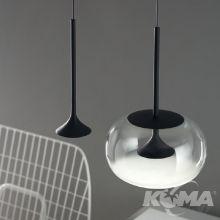 Alive lampa wisząca chrom 1x8,5W LED