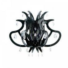 Medusa kinkiet e27/75W czarny