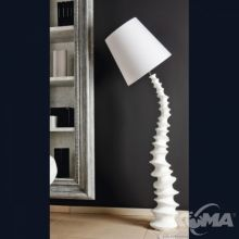 Finn lampa podlogowa e27/60W biala