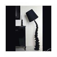 Finn lampa podlogowa e27/60W czarna