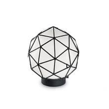 Maglie D25 lampa stołowa 1x60W E27 230V biała + czarne elementy