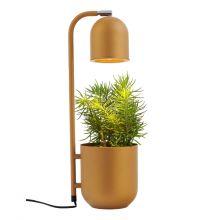 Botanica lampa stojąca musztardowy 1x9W led GU10