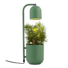 Botanica lampa stojąca zielona 1x9W led GU10