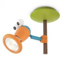 Birdey lampa sufitowa / ścienna dziecięca 1x35W GU10 230V wielokolorowa